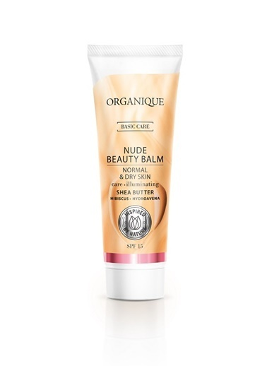 Organique Nude Beauty Balm (BB Cream) - Normal ve Kuru Ciltler için - 30 ml Renksiz